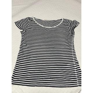 ローリーズファーム(LOWRYS FARM)のストライプTシャツ(Tシャツ/カットソー(半袖/袖なし))