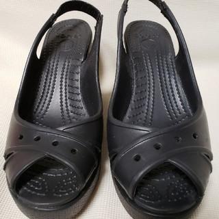 クロックス(crocs)のcrocs サンダルW5(サンダル)