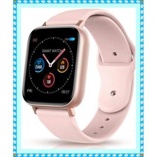 多機能スマートウォッチ IP67防水 2色のバンド付き(腕時計(デジタル))