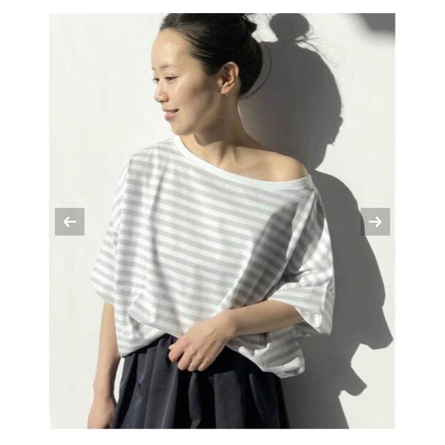 Plage(プラージュ)のPlage 【R'IAM】FEMININE ボーダー Tシャツ4◆ レディースのトップス(カットソー(長袖/七分))の商品写真