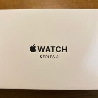 アップルウォッチ(Apple Watch)の[送料無料!] Apple Watch series 3 シルバー 38mm (腕時計(デジタル))