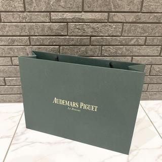 オーデマピゲ(AUDEMARS PIGUET)の最終お値下げ♡ オーデマピゲ ピゲ 紙袋 ショップ袋 ロゴ ブラック(ショップ袋)