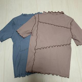 シマムラ(しまむら)のメロウ トップス 二枚組(Tシャツ(半袖/袖なし))