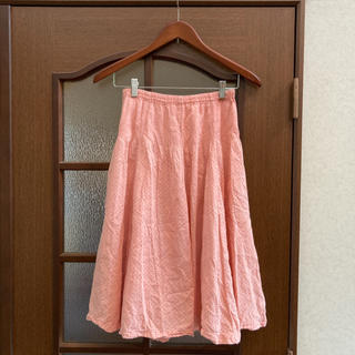 ツモリチサト(TSUMORI CHISATO)のTSUMORI CHISATO♡ドット柄フレアスカート(ひざ丈スカート)