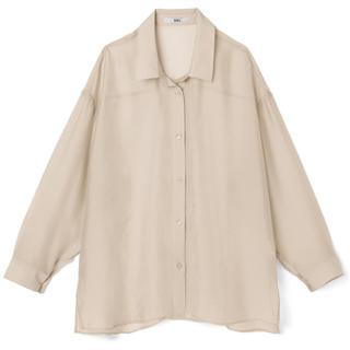 グレイル(GRL)のGRL シアーオーバーシャツ[fo1093](シャツ/ブラウス(長袖/七分))