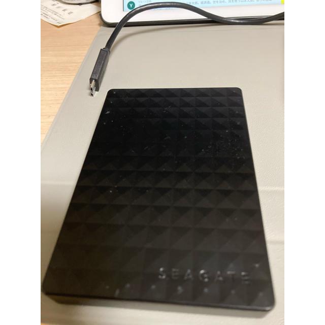 早い者勝ち 未使用 SEAGATE 外付け ハードディスク 1TB スマホ/家電/カメラのPC/タブレット(PC周辺機器)の商品写真