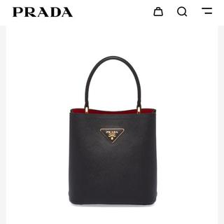 PRADA - プラダ パニエ スモール サフィアーノレザー バッグ