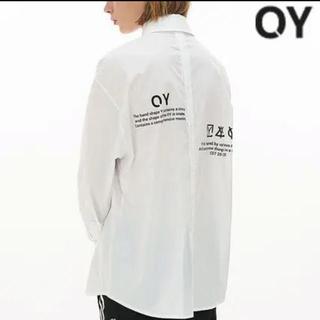 OY シャツ(白) バックボタン (シャツ)