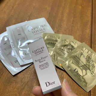 クリスチャンディオール(Christian Dior)のディオール カプチュールトータル 美容液 3ml(美容液)