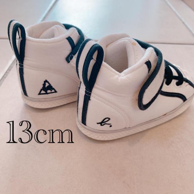 agnes b.(アニエスベー)のルコック アニエス・ベー ハイカット 13センチ キッズ/ベビー/マタニティのベビー靴/シューズ(~14cm)(スニーカー)の商品写真