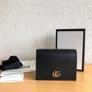 Gucci - 【美品】GUCCI プチマーモント 折財布