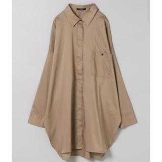 ジーナシス(JEANASIS)の80コットンワイドBIGシャツLS(シャツ)