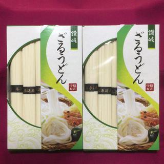 讃岐 ざるうどん  (80g×5束) 400g入り×2箱(麺類)