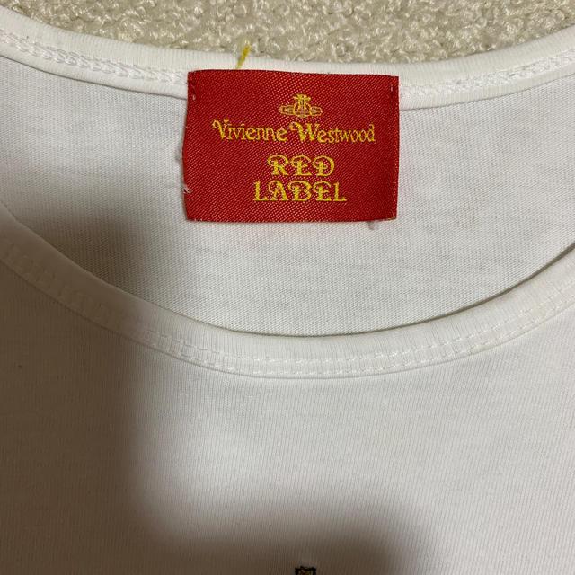 Vivienne Westwood(ヴィヴィアンウエストウッド)のヴィヴィアン ウエストウッド Tシャツ レディースのトップス(Tシャツ(半袖/袖なし))の商品写真