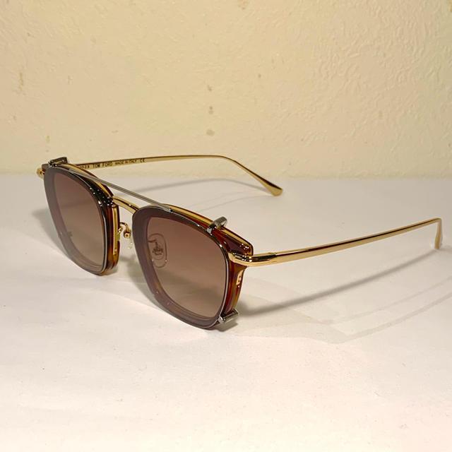 TOM FORD(トムフォード)のTOMFORD/トムフォード【TF5496】ブラウンハバナ□クリップ付メガネ眼鏡 メンズのファッション小物(サングラス/メガネ)の商品写真