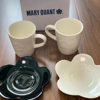 マリークワント(MARY QUANT)のマグ&プレートセット(グラス/カップ)
