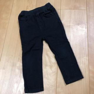プティマイン(petit main)のプティマイン  ズボン  パンツ 黒 スキニー ストレッチ 80(パンツ)