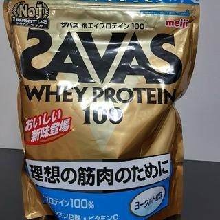 ザバス(SAVAS)のザバス ホエイプロテイン ヨーグルト味(プロテイン)