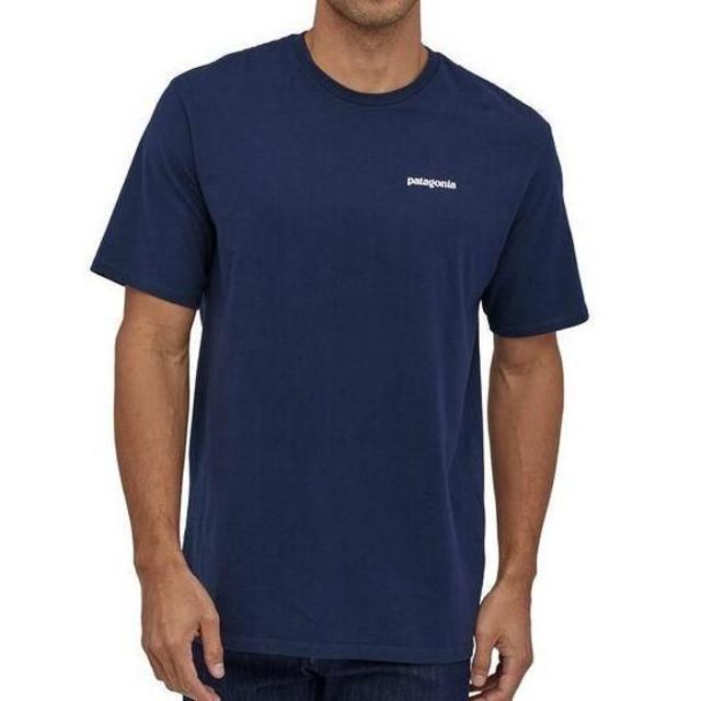 patagonia(パタゴニア)のパタゴニア 半袖T シャツ フレームドフィッロイ ネイビー アウトドア メンズのトップス(Tシャツ/カットソー(半袖/袖なし))の商品写真