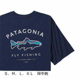 patagonia - パタゴニア 半袖T シャツ フレームドフィッロイ ネイビー アウトドア