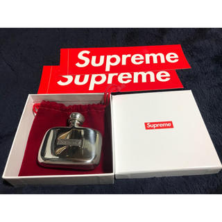 Supreme - Pewter Mini Flask