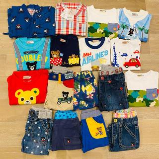 ミキハウス(mikihouse)のミキハウス ダブルビー ホットビスケッツ  Tシャツ パンツ 夏服 90(Tシャツ/カットソー)