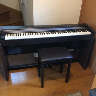 カシオ(CASIO)の引取限定/CASIO電子ピアノ/PX-700/専用イス付/定価9万円(電子ピアノ)