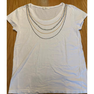 アダムエロぺ(Adam et Rope')のadam et Rope' 白Tシャツ 38(Tシャツ(半袖/袖なし))