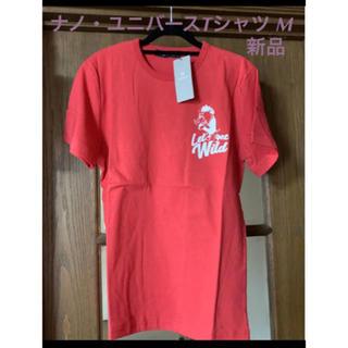 ナノユニバース(nano・universe)の新品 ナノ ユニバース Tシャツ メンズ M   レッド *(Tシャツ/カットソー(半袖/袖なし))