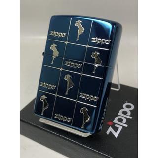 ジッポー(ZIPPO)のZippo ウィンディー ガール エンジェル 女・ブルー青 2WG-DBL(タバコグッズ)