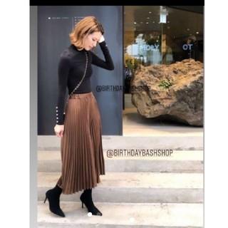 dholic - バースデーバッシュ プリーツスカート birthdaybash スカート