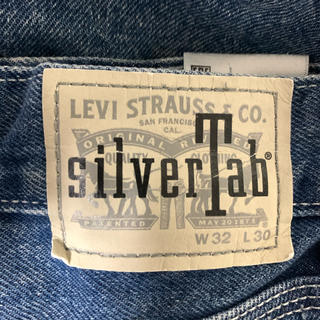 Levi's - 美品! リーバイス シルバータブ バギーパンツ LEVI'S インディゴ