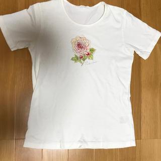 ピンクハウス(PINK HOUSE)のピンクハウス   Tシャツ 薔薇(Tシャツ(半袖/袖なし))
