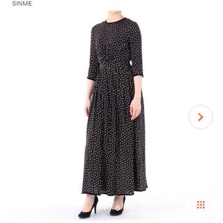 IENA - sinme ドットワンピース 新品 Mサイズ 石田ゆり子 IENA