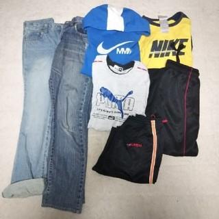 ユニクロ(UNIQLO)の男の子服 まとめ売り 150 福袋7点 ナイキ プーマ ユニクロ ②(その他)