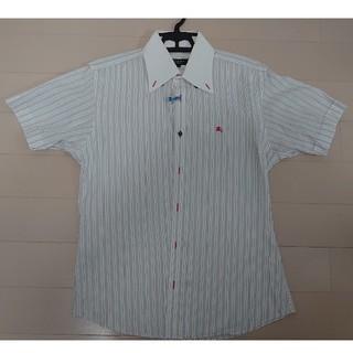 バーバリーブラックレーベル(BURBERRY BLACK LABEL)のバーバリー ブラックレーベル 半袖 ボタンダウン ドレスシャツ クールビズ 2(シャツ)