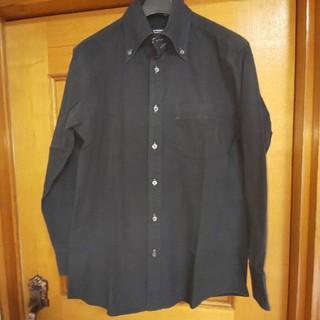 バーバリーブラックレーベル(BURBERRY BLACK LABEL)のBURBERRY BLACK LABEL バーバリー 長袖シャツ 黒 38 美品(シャツ)