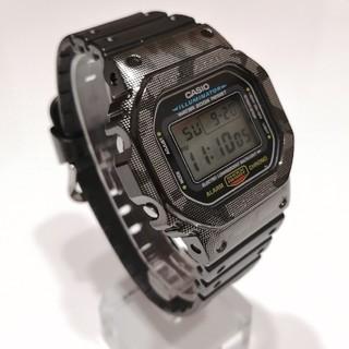 G-SHOCK - G-SHOCK DW-5600E ステン ハーフメタル カスタム