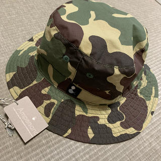 アンパサンド(ampersand)のアンパサンド リバーシブル 帽子 迷彩(帽子)