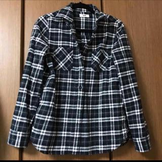 ロデオクラウンズワイドボウル(RODEO CROWNS WIDE BOWL)のRODEO CROWNS ブラックチェックシャツ(シャツ/ブラウス(長袖/七分))