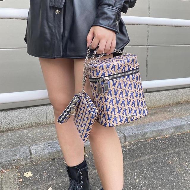 ALEXIA STAM(アリシアスタン)のjuemi バニティポーチ レディースのファッション小物(ポーチ)の商品写真