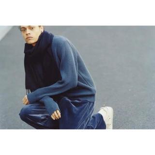 COMOLI - auralee  17aw ニット セーター