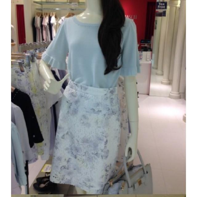 MISCH MASCH(ミッシュマッシュ)のレース花柄タイトスカート♡ レディースのスカート(ひざ丈スカート)の商品写真