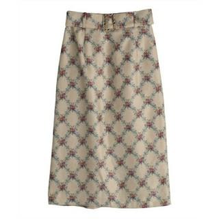 アクシーズファム(axes femme)のタイトスカート(ロングスカート)