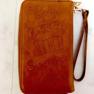 スヌーピー(SNOOPY)のiPhone8 iPhone7 ケース スヌーピー 手帳型 ウォレット付き!(iPhoneケース)
