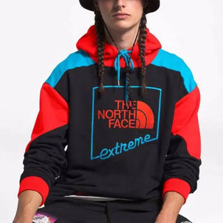 THE NORTH FACE - 日本未発売!ノースフェイス XXL EXTREME 90 パーカー ブラック