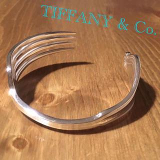 ティファニー(Tiffany & Co.)のTIFFANY アンティーク フォーク バングル Whittier(バングル/リストバンド)