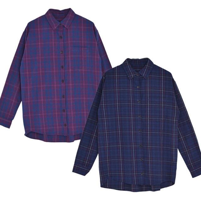 MURUA(ムルーア)のMURUA チェックシャツ レディースのトップス(シャツ/ブラウス(長袖/七分))の商品写真