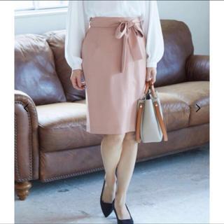 ヴィス(ViS)のVIS ピンクタイトスカート(ひざ丈スカート)