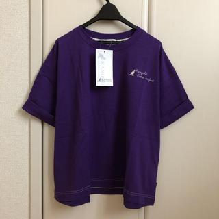 カンゴール(KANGOL)の新品 [KANGOL/カンゴール] ダブル袖ワンポイント刺繍ロゴT(Tシャツ(半袖/袖なし))